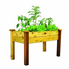 Gronomics EGB 24-48S Elevated Garden Bed, 24-Inch by 48-Inch by 30-Inch, Finished by Gronomics. Save 34 Off!. $232.15. Handcrafted in the u.s.a.. Food contact safe finish. Tool-free assembly. Constructed from 100-percent Western Red Cedar. Slides together in minutes. Elevated Garden Beds are the answer for an instant and manageable garden that can be placed anywhere. Ideal for small patios, decks, condos, apartments, or anywhere you'd like to grow vegetables, herbs, or flo...
