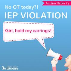 #AutismHaiku #Autism #parenting #IEP