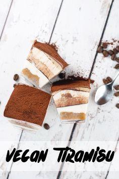 Vegan Tiramisu: Coffee Soaked Sponge layered with Vegan Vanilla and Coffee Mascarpone filling. Totally doesn't taste Vegan.