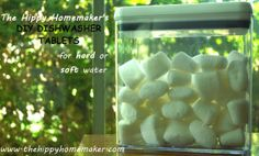 DIY Dishwasher Tablets For Hard or Soft Water (and homemade Lemishine)