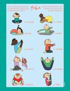 Yoga sequences for kids Poses Yoga Enfants, Kids Yoga Poses, Yoga For Kids, Exercise For Kids, Yoga Meditation, Yoga Flow, Yoga Yin, Iyengar Yoga, Ashtanga Yoga