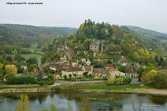 """Limeuil, Dordogne (Périgord), France - """"Les Plus Beaux Villages de France"""" label we live up the road on the left"""