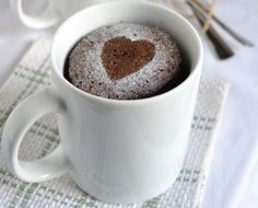 Mon goûter d'automne cocooning avec le mug-cake « financier »