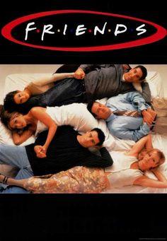 Friends Cast Bedtime Buddies TV Show Poster 27x39