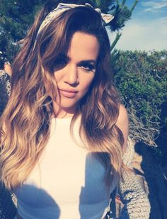 Khloe Kardashian/makeup/hair/    Hey gorgeous, want to see more pins like this? Make sure to follow me @anillaud
