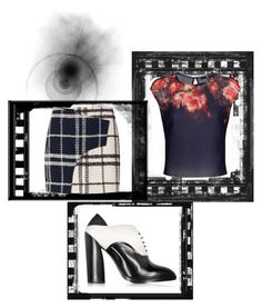 """Head to Toe Mixed Pattern"" by mel-c-n ❤ liked on Polyvore featuring 10 Crosby Derek Lam, Jil Sander, jilsander, dereklam and polyvorecontest"