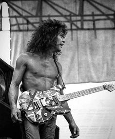Rock And Roll Fantasy, Famous Guitars, David Lee Roth, Best Guitarist, Eddie Van Halen, Rock Legends, Metal Bands, Music Stuff, Rock Music
