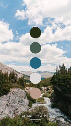 Colorful Colorado Color Palette