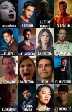 -Preferencias de los personajes de Teen Wolf- #detodo De Todo #amreading #books #wattpad