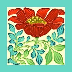 133 Art Nouveau tile by Pilkington (1895). Courtesy of Robert Smith from his…