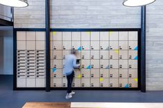 No longer just rooms lined with desks, co-working hubs have become design hotspots. Here, 8 inspiring co-working spaces that make good design a priority. Coworking Space, Espace Coworking Paris, Workspace Design, Office Workspace, Office Interior Design, Office Nyc, Smart Office, Space Interiors, Office Interiors