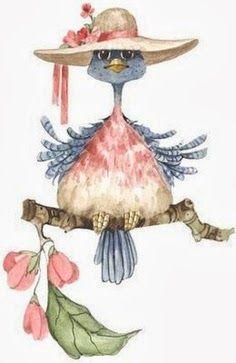 Hat bird