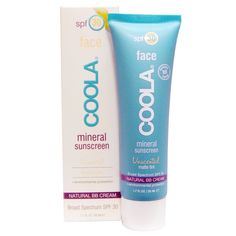 COOLA Suncare Mineral Face SPF 30 Unscented Matte Tint