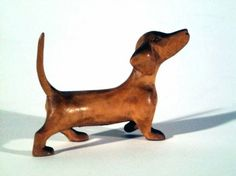 Anonymous · untitled dog, Carved Wood - Asheville Art Museum