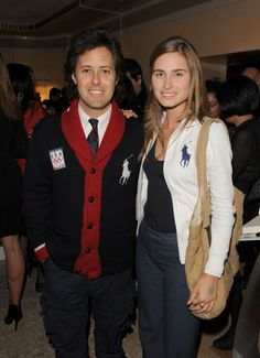 David Lauren, son of Ralph, and Lauren Bush, niece of President George W. Bush, became American prep royalty when they wed in 2011. Here the couple is pictured in matching Polo ensembles in Vancouver, February2010.