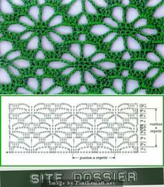 Best 12 Spider design worked continuously as lace ground stitch, not just on the edge or as isolated motif ~~ Crochet Scarf Diagram, Crochet Motifs, Crochet Stitches Patterns, Crochet Chart, Filet Crochet, Crochet Designs, Crochet Doilies, Crochet Lace, Knit Stitches