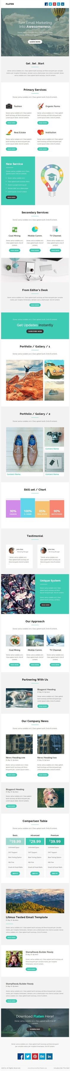 Top 5 Email Template Design Ideas   Email Design   Pinterest   Email ...