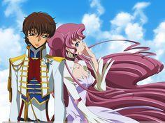 Code Geass - Suzaku and Euphemia <3