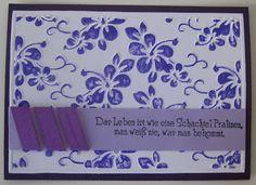Sabrinas kreative Seite: September 2011 My first card ever!