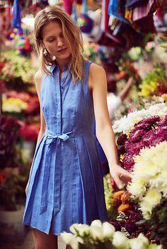 HD in Paris Printemps Linen Shirtdress