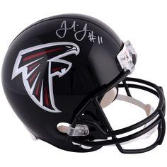 Julio Jones Atlanta Falcons Fanatics Authentic Autographed Riddell Replica Helmet