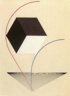 Проун.Эль Лисицкий.Proun .El Lissitzky.
