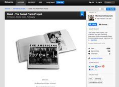 Behance Profile Robert Frank, Jobs Hiring, User Profile, Editorial Design, Art Direction, Behance, Messages, Photography, Inspiration