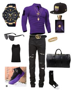 Designer Clothes, Shoes & Bags for Women Summer Swag Outfits, Swag Outfits Men, Gucci Outfits, Stylish Mens Outfits, Girl Outfits, Jordans Outfit For Men, Dope Outfits For Guys, Hype Clothing, Mens Clothing Styles