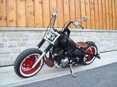 1974 H D Bobber Motorcycle 3 424x639 Pixels