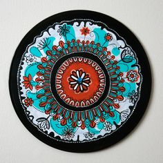 Recycled Vinyl Records Art Crafts