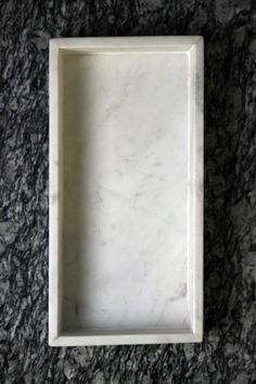 Marble Serving/Storage Tray 30x15x4cm