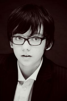 Asa Butterfield. A talented young actor, and I am excited to see his portrayal of Ender in Ender's Game.