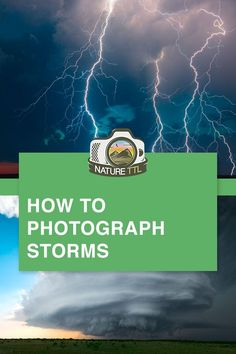 Want to take your camera storm-chasing? In this tutorial learn how to take beautiful photographs of storms, supercells, lightning, and tornadoes. Best Photography Blogs, Storm Photography, Landscape Photography Tips, Photography Basics, Scenic Photography, Photography Lessons, Photography For Beginners, Photoshop Photography, Photography Tutorials