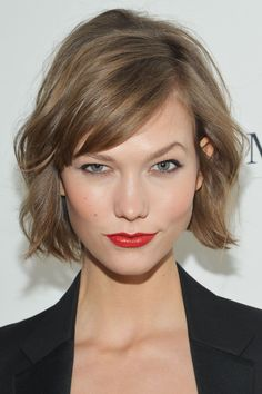 """The Most Requested Haircuts From The Past 30 Years #refinery29  http://www.refinery29.com/2016/12/131539/popular-haircuts-celebrity-inspired#slide-11  The Year: 2012The Cut: The chopThe Woman: Karlie KlossIt was 2012 when Karlie Kloss famously whacked seven inches off her hair. Dubbed """"the chop"""" by Vogue, the layered cut felt brand-new at the time. B..."""