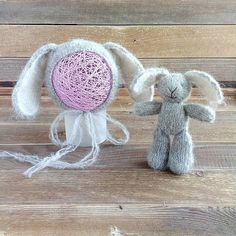 Check out this item in my Etsy shop https://www.etsy.com/listing/580678646/newborn-photo-prop-set-bonnet-bunny