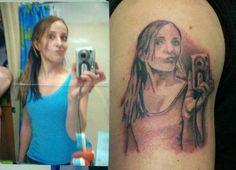 Anyone who thinks a selfy tattoo is a good idea: | 35 People Who Will Make You Feel Like A Genius