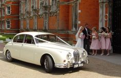 Classic Wedding Cars For Hire   Cathy, Our Jaguar Mark 2 Four Door Saloon