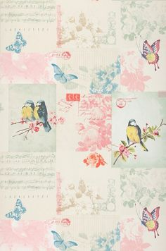 Bensi | Papier peint romantique | Motifs du papier peint | Papier peint des années 70