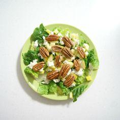 Salad Recipe - Receta: Ensalada de Manzana con Nuez