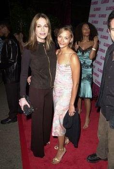 Peggy Lipton and Rashida Jones..mother and daughter