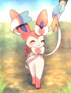 """Pokemon Week Day Favorite Kalos Pokemon I drew Meowstic already so I'm going with Sylveon since I like them equally! Inspired by Sylveons Pokedex entry: """"It wraps its ribbonlike feelers around the. Pokemon Fan Art, My Pokemon, Cool Pokemon, Pokemon Stuff, Kalos Pokemon, Pokemon Eeveelutions, Cute Pokemon Pictures, Cute Pictures, Cute Pokemon Wallpaper"""