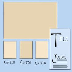 Free Scrapbook Layout Templates | great layout ideas. Below are some of my favorites! Using a template ...