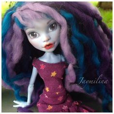Abbey Monster High repaint and yarn wig | by jaymilinahuff