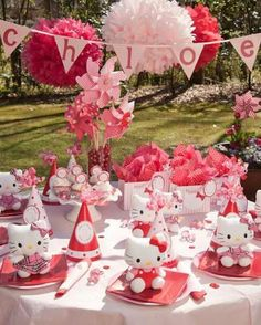 Hello Kitty Party. Only because the little girls name is Chloe.