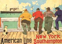 Henri Cassiers: Cartel American Line