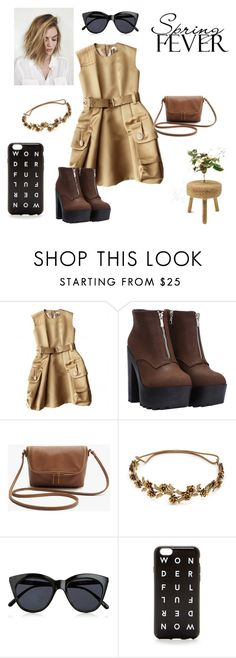 """""""Spring!"""" by modern-yet-elegant ❤ liked on Polyvore featuring beauty, Marc Jacobs, Jennifer Behr, Le Specs and J.Crew"""