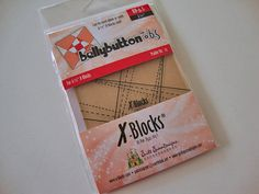 XBlocks Bellybutton for use with 6 1/2 XBlocks Tool by Jambearies, $8.95