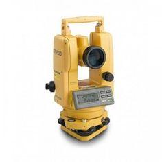 """Topcon DT-205L 5"""" Waterproof Digital Theodolites with Laser Pointer 60215"""