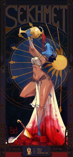 Sekhmet on Behance Egyptian Drawings, Egyptian Art, Goddess Tattoo, Goddess Art, Egyptian Mythology, Egyptian Goddess, Ancient Aliens, Ancient Egypt, Ancient Greece