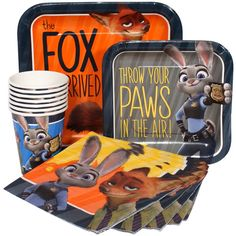 Zootopia Express Party Package for 8